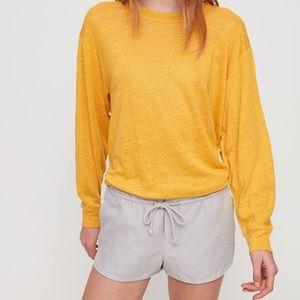 Aritzia Sz XS NAVY Habitus Shorts